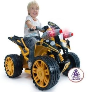 Quad eléctrico para niños Quad The Beast Bumble Bee