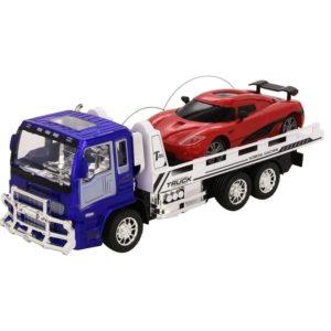Set camión y coche con radiocontrol