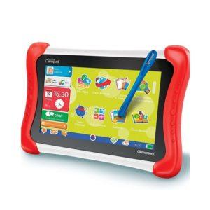 Tablet para niños en color rojo