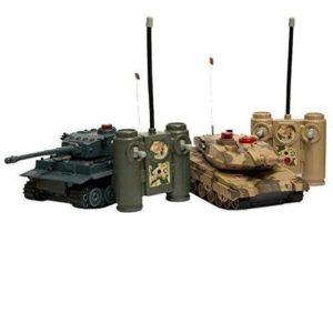 Tanque radiocontrol con infrarrojos