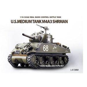 Tanque radiocontrol Sherman