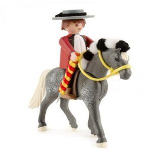 Torero Playmobil con caballo