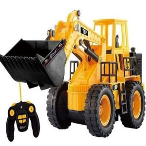 Tractor de construcción eléctrico
