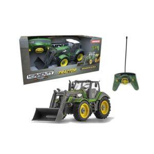 Tractor radiocontrol con pala excavadora