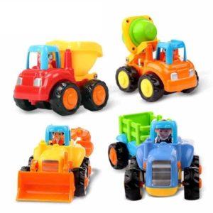 Tractores de juguete de fricción