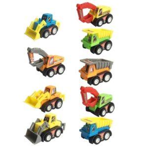 Tractores y vehículos de construcción