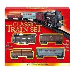 Tren de juguete clásico
