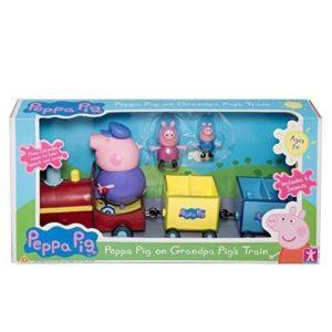 Tren de juguete de Peppa Pig