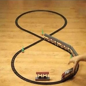 Tren eléctrico con efectos HSP Himoto
