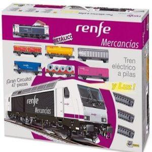 Tren eléctrico de mercancías Pequetren
