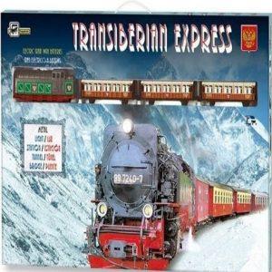 Tren eléctrico Transiberiano expreso