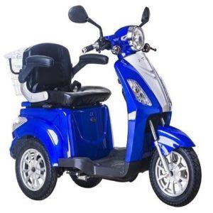 Triciclo eléctrico o scooter Lunex